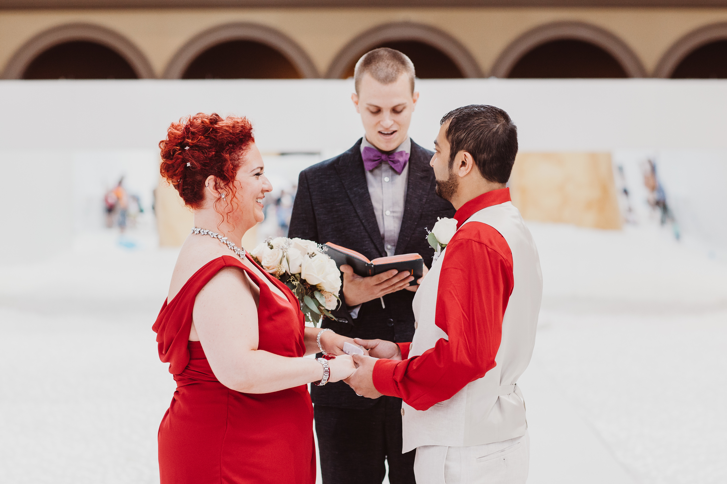 Elopement packages in DC with Pop Wed Co