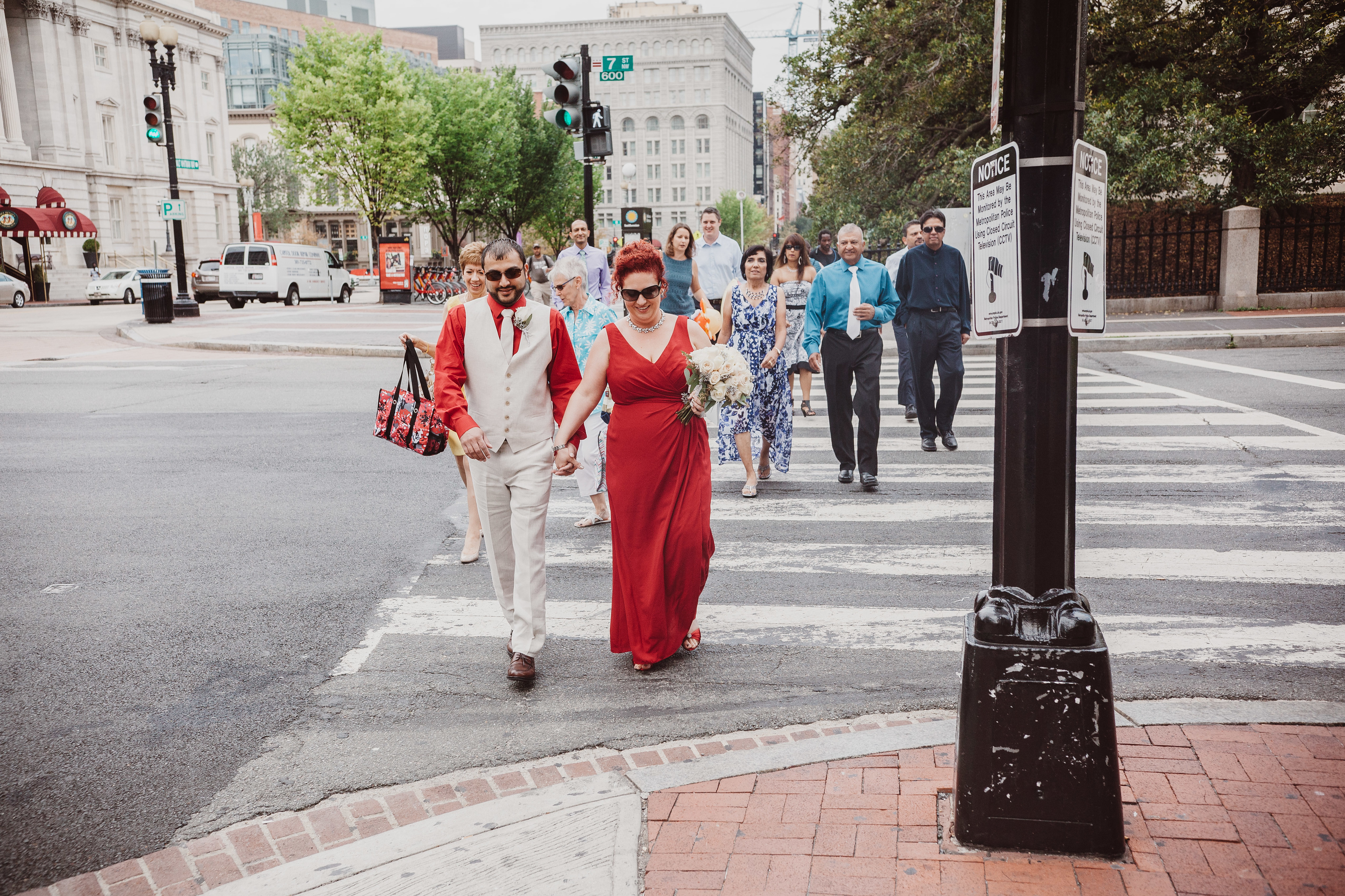 Weekday Wedding in DC with Pop Wed Co